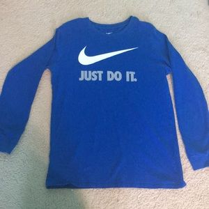 Nike Deep Blue cotton long sleeve